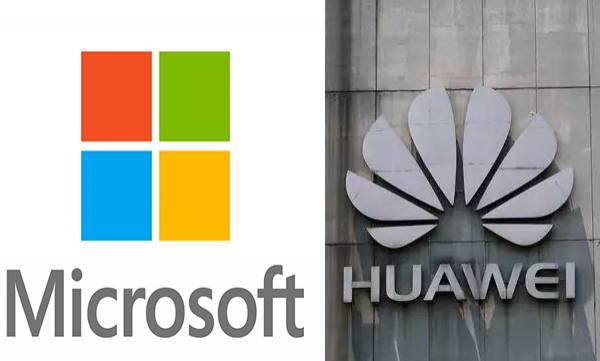microsoft drops huawei laptops online store