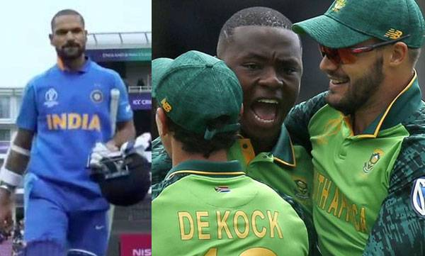 South Africa vs India , World Cup 2019