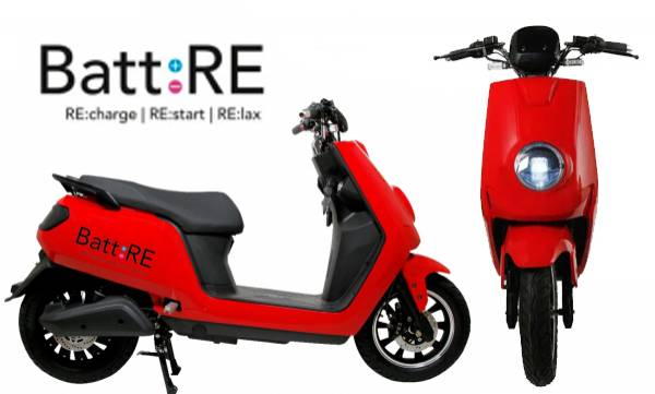 battre electric scooter launch