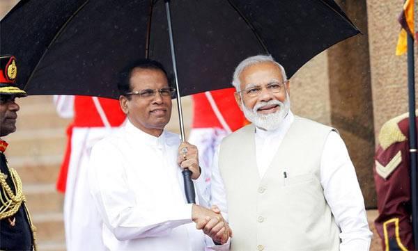 PM Modi, Sreelanka