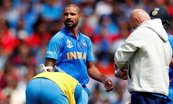Shikar Dhawan, World cup