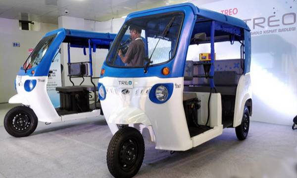 mahindra treo electric three wheeler launched in kerala