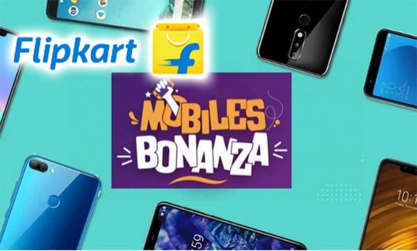 flipkart mobiles bonanza sale