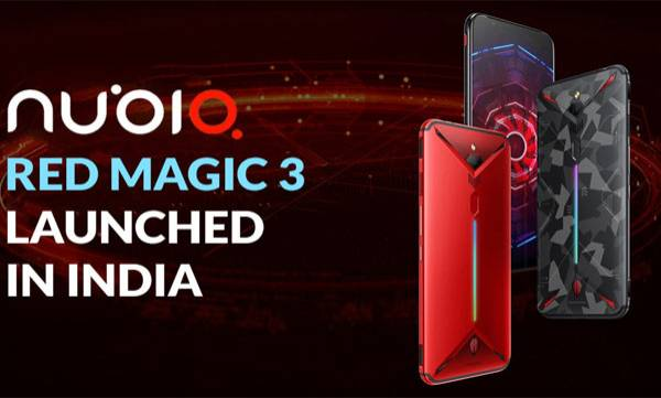 Nubia Red Magic 3 Gaming Phone With 8K Video Recording Support Launched in India