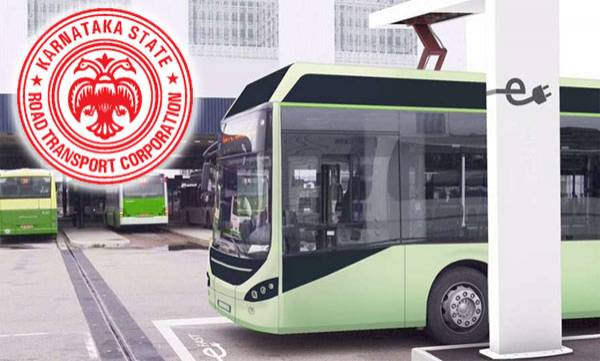 karnataka rtc going to start electric bus service to five districts