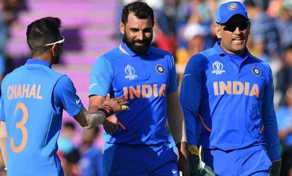 Mohammed Shami, MS Dhoni, Hat-Trick