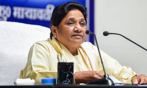 Mayawati, BJP