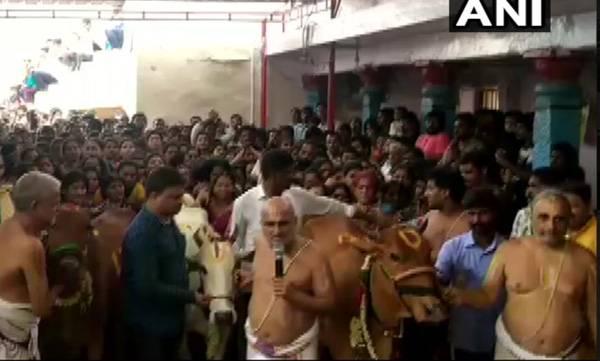Hyderabad,  Prevent child rape, Cow worship,