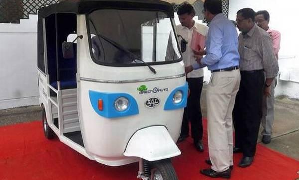 keralas electric auto launch on onam