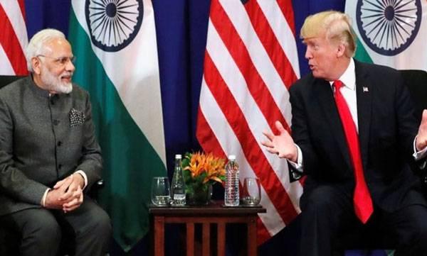 Donald Trump, India