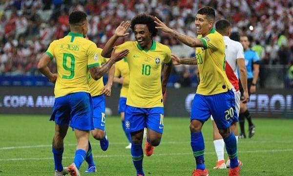 Brazil, Penalty shootout, Paraguay