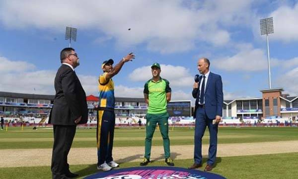 World cup, South Africa, Srilanka, Toss
