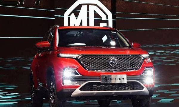 mg hector launched