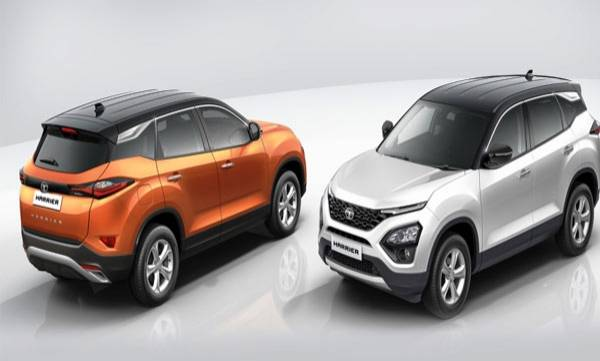tata harrier dual tone launched