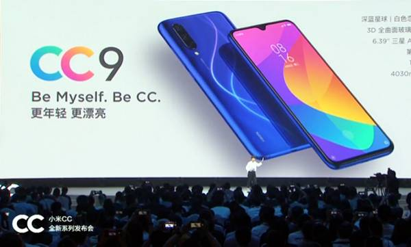 xiaomi cc9 series smartphones launched in china