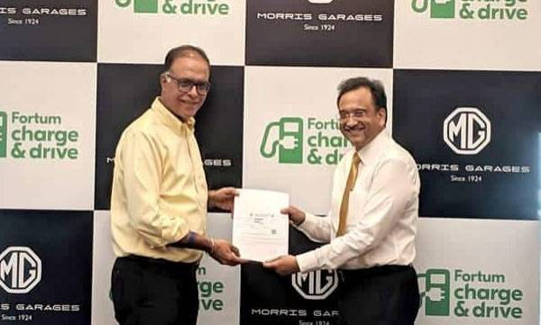 mg motor ties up with fortum