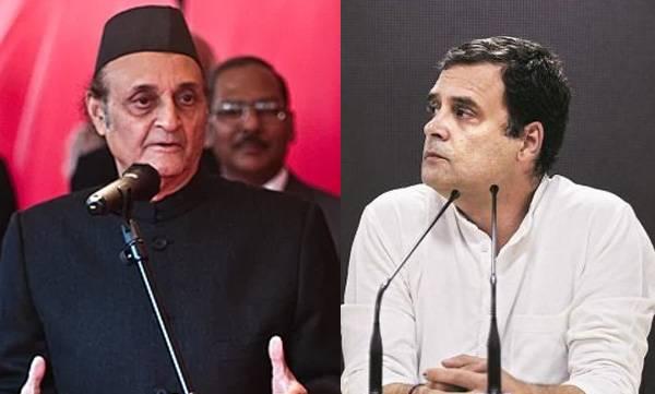 Congress, Rahul Gandhi, Karan Singh