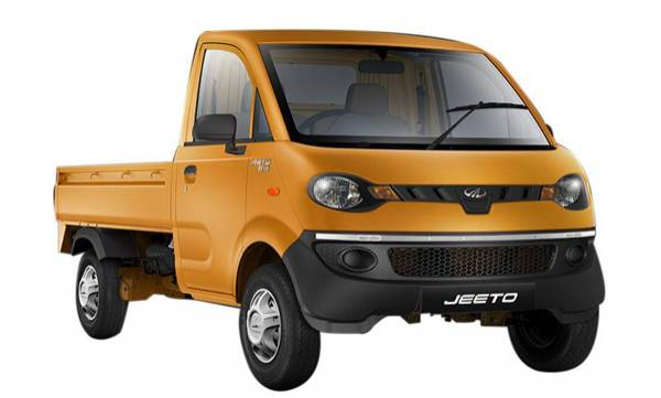 mahindra rolls out 100000 th jeeto load mini truck