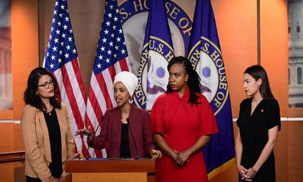 Donald Trump, Democratic congresswomen