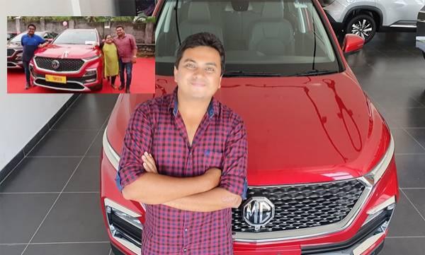 sujith bhaktan acquires keralas first mg hector