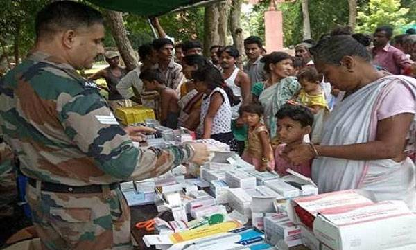 Large scale relief operation