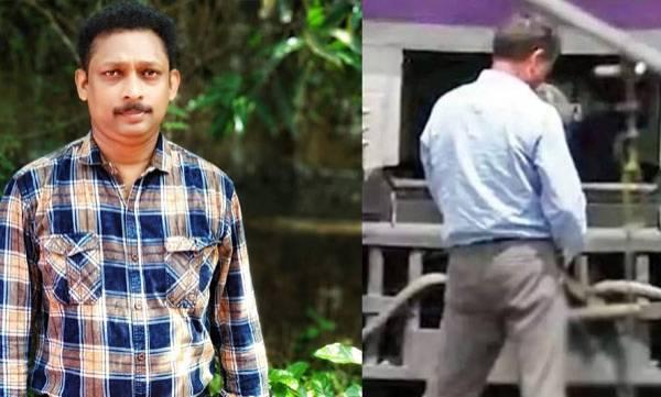 Facebook post, Loco pilot, Pradeep Chandran