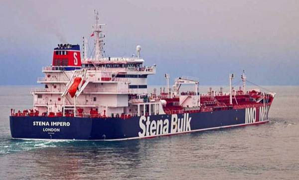 Iran, Seizure,  British ship