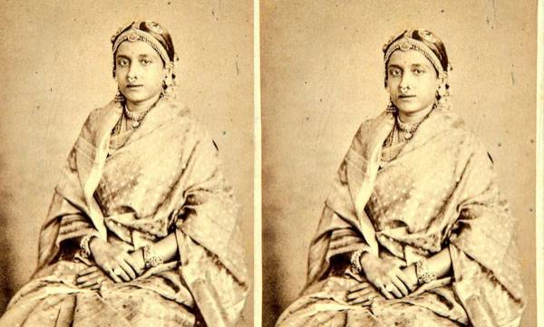 Malayalee women, Saree