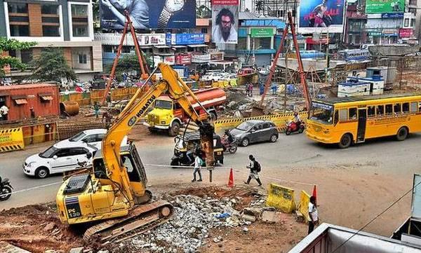 Work, Bridge, Madras IIt,