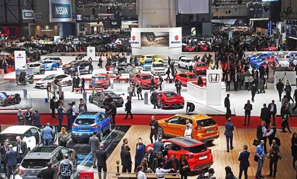 Corona threat, Geneva motor show