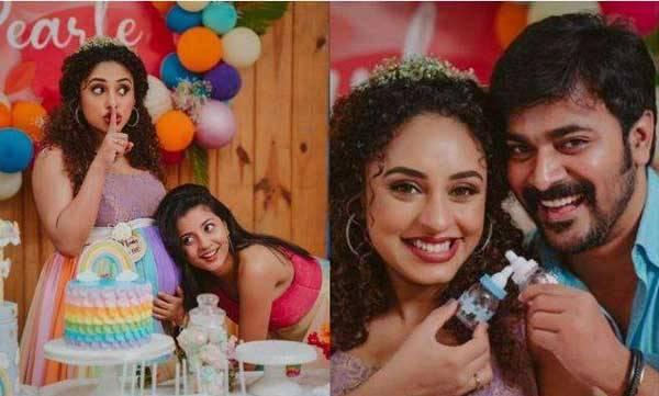 pearly baby shower images   വൈറലായി പേളിയുടെ ബേബി ഷവര്, ചടങ്ങൊരുക്കിയത് വാവച്ചി റേച്ചല്   Mangalam