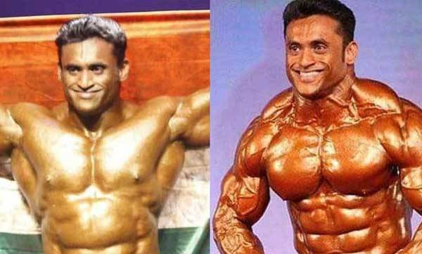 body builder died because of covid